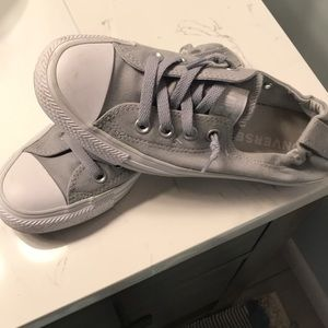Converse - worn twice - like brand new